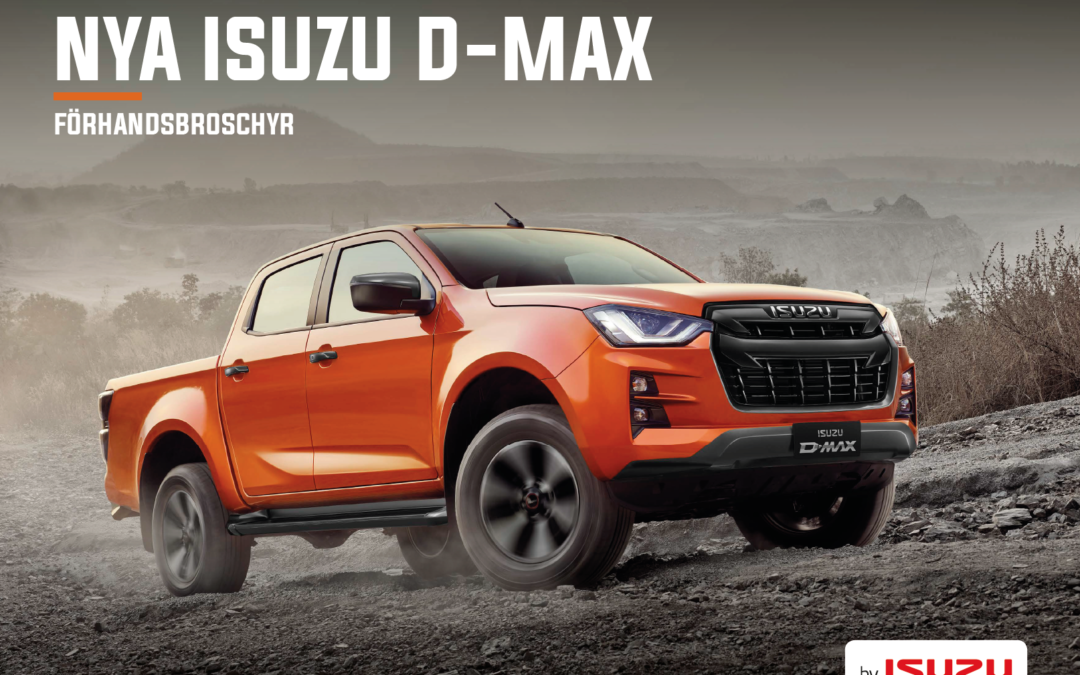 NEXT GENERATION PICKUP NYA ISUZU D-MAX